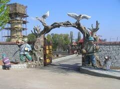Декор для ворот из бетона БИ-021