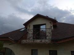 Кованые перила дизайн КП 013 для балкона