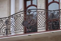 Кованые перила дизайн КП 014 для балкона