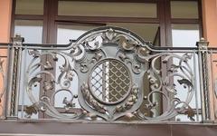 Кованые перила дизайн КП 015 для балкона