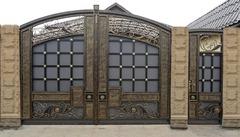 Кованые ворота дизайн КВ 001