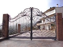 Кованые ворота дизайн КВ 002