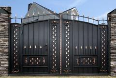 Кованые ворота дизайн КВ 003