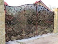 Кованые ворота дизайн КВ 006