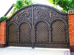 Кованые ворота дизайн КВ 007