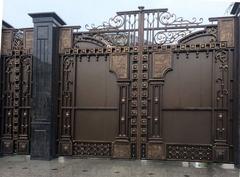 Кованые ворота дизайн КВ 008