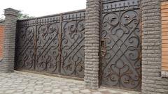 Кованые ворота дизайн КВ 009