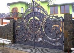Кованые ворота дизайн КВ 012