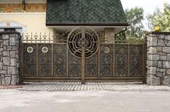 Кованые ворота дизайн КВ 013
