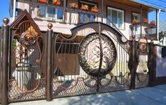 Кованые ворота дизайн КВ 015