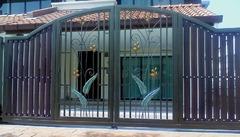 Кованые ворота дизайн КВ 018