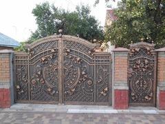 Кованые ворота дизайн КВ 019