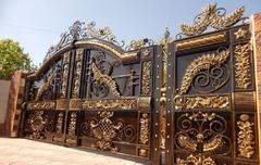 Кованые ворота дизайн КВ 020