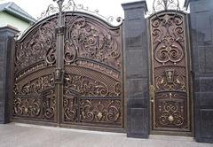 Кованые ворота дизайн КВ 024