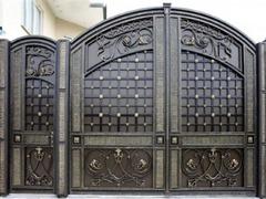 Кованые ворота дизайн КВ 072