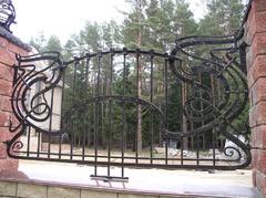 Кованый забор дизайн КЗ 003