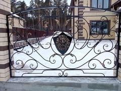 Кованый забор дизайн КЗ 006