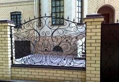 Кованый забор дизайн КЗ 014