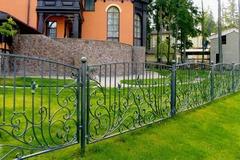 Кованый забор дизайн КЗ 019