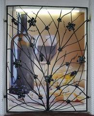Кованые решетки на окна дизайн КР 013