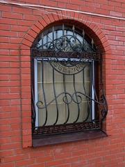 Кованые решетки на окна дизайн КР 014
