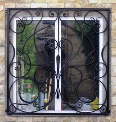Кованые решетки на окна дизайн КР 037