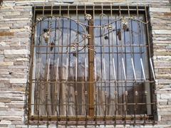 Кованые решетки на окна дизайн КР 039