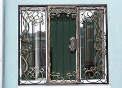 Кованые решетки на окна дизайн КР 047