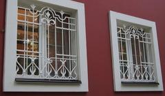 Кованые решетки на окна дизайн КР 064