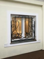 Кованые решетки на окна дизайн КР 070