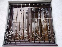 Кованые решетки на окна дизайн КР 084