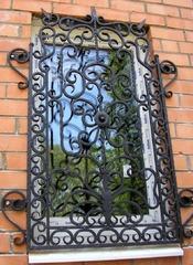 Кованые решетки на окна дизайн КР 089