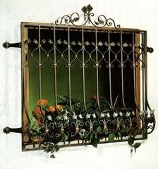 Кованые решетки на окна дизайн КР 096