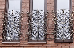 Кованые решетки на окна дизайн КР 099