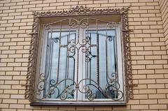 Кованые решетки на окна дизайн КР 101