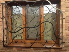 Кованые решетки на окна дизайн КР 102